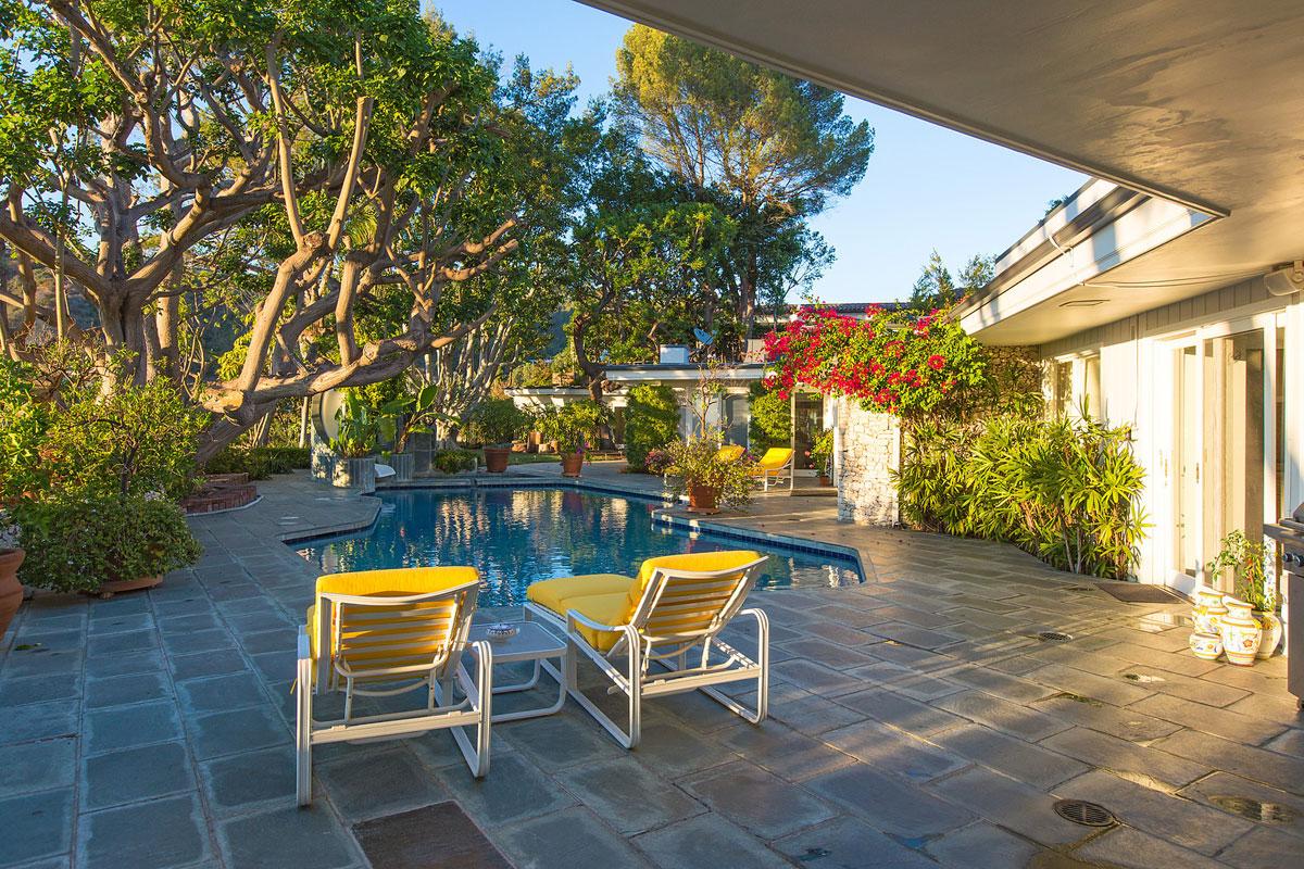 Elvis Presley's Beverly Hills home