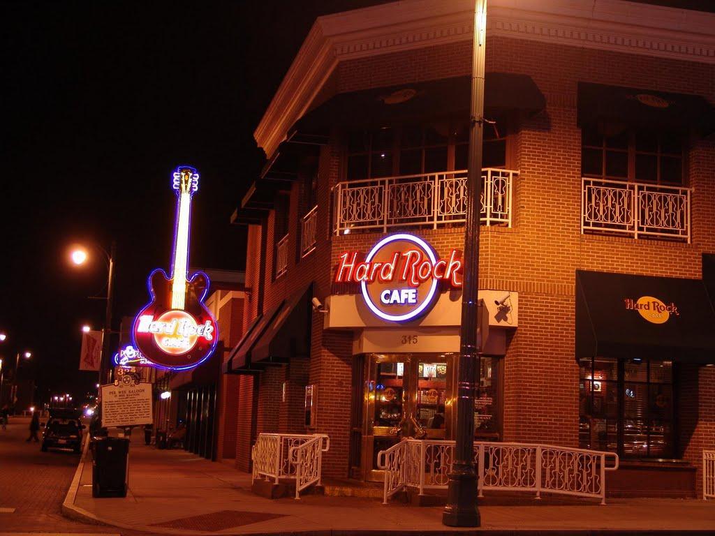 Hard Rock Cafe, Beale Street Memphis