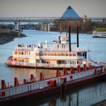 Mississippi Queen Steam Riverboat from Memphis