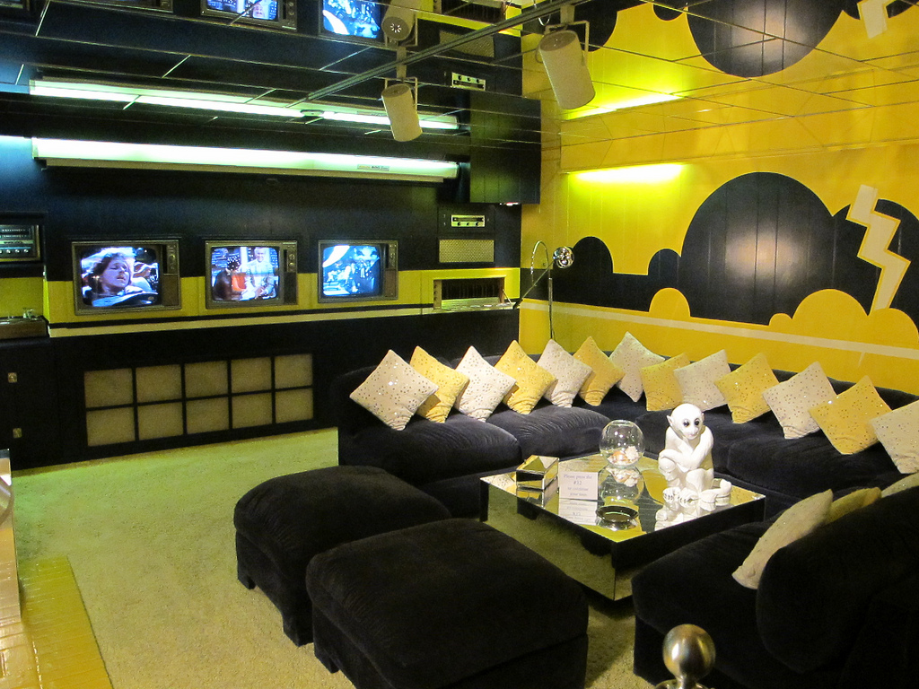 TV Room at Graceland