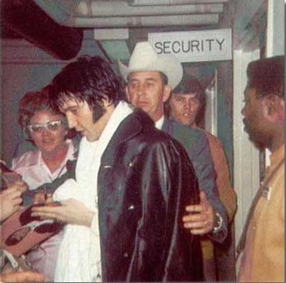 Elvis' First Houston Rodeo Appearance
